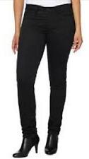Calvin Klein Women's Sateen Mid-Rise Skinny Pants 42O6099 Various Colors