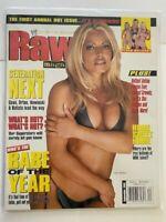 WWE Raw Magazine 2002 September Whos The Babe Of The Year Trish Stratus Diva WWF