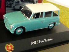 1/43 Atlas DDR Auto Kollektion AWZ P70 Kombi türkis 7230 037