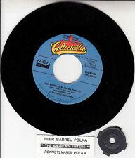 "THE ANDREWS SISTERS  Beer Barrel Polka & Pennsylvania Polka 7"" 45 rpm record NEW"