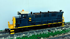Custom Lego CSX 3GS21B-DE Train Engine Locomotive