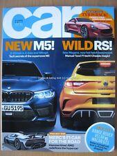 Car October 2017 BMW M5 Renault Megane RS Range Rover Velar Macan Huracan Fiesta