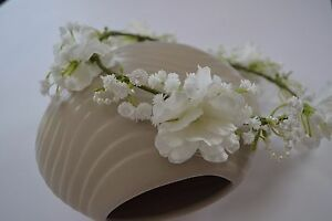C6 flower crown head wreath First Holy Communion wreath wianek komunijny