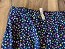 NWT J Crew Women Colorful Dotted Lined Slit Midi Skirt Size 16 New