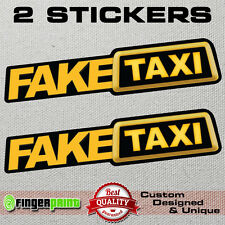 FAKE TAXI faketaxi sticker decal bumper window funny oem dub jdm fun vag graphic