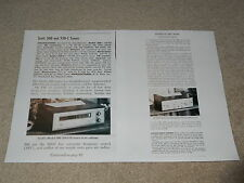 Scott 300, 330-C Tube Tuner Review, 2 page, Article, Info, Specs, FULL TEST,1958