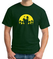 ZOMBIE SNOOPY PEANUTS, CHARLIE BROWN Parody Halloween T-shirt sizes up to 5XL