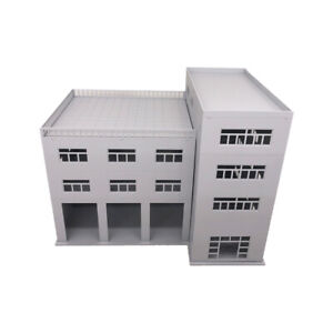 Outland Models Scenery for Model Cars 3-Stall Truck Garage / Engine House 1:64