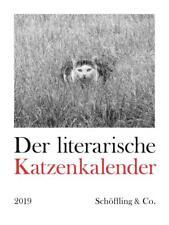 Der literarische Katzenkalender 2019, Kalender