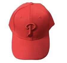 New listing Philadelphia Phillies Red On Red Adjustable Strap Back Hat