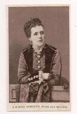Vintage CDV Archduchess Marie Henriette of Austria Queen of Belgium