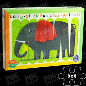 House of Marbles Lolly Stick Puzzles - Animals 18 months+ 213313