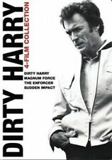Dirty Harry Collection 4 Films Magnum Force The Enforcer Sudden Impact DVD R4