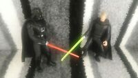 Star Wars Power of the Force - Electronic Power F/X Darth Vader and Luke