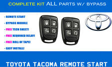 Toyota Tacoma Remote Start Kit 2011 2012 2013 2014 - COMPLETE - EASIEST INSTALL!