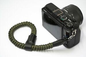 Wrist Camera Strap | Green Rope Strap | Mirrorless Camera Strap | NEVETdesigns