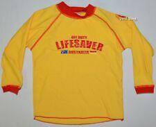 New - SLSA Kids Long Sleeve Rash Vest Swimming Rashie Long Sleeve - Size: 8
