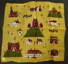 Governor's Palace Williamsburg, Virginia Hankie/Handkerchief , Mint w/Sticker