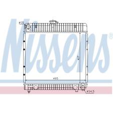 Kühler Motorkühlung - Nissens 62710