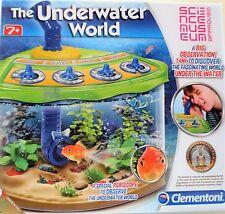 Clementoni THE UNDERWATER WORLD - 7+ yrs - Board Game - Fish Tank Periscope