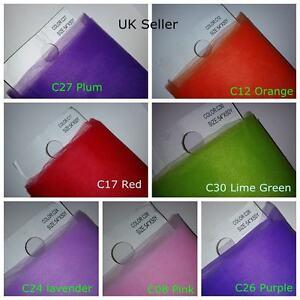 "Premium Soft Plain Tulle Fabric Width 54""/ 138 cm  x Length 50 Y 100% Nylon UK"