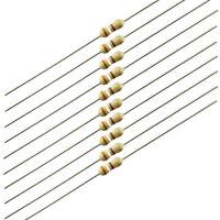 1/4 Watt Carbon Film Resistors, 390 ohm, 10 pieces