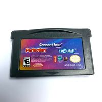 Connect Four/Perfection/Trouble (Nintendo Game Boy Advance, 2005) GBA TESTED