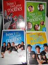 DVD LOT 4 SAISONS SERIE HOW I MEET YOUR MOTHER 2 3 4 5 NEUVES EMBALLEES TV
