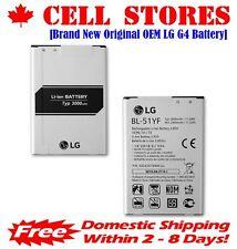 New Original OEM LG Optimus G4 G Stylo Battery BL-51YF H810 LS991 VS986 3000mAh