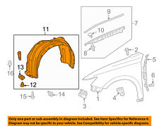 fenders for lexus es300 ebay Ford Focus Diagram 2013 2017 lexus toyota es300h fender liner right oem 5387506270 53875 06270