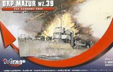 Mirage - Torpediniere Mazur 1939 Barca wz 39 - 1:400 Modello Kit
