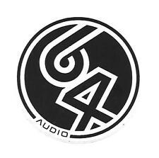 64 Audio Headphones Sticker / Decal