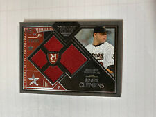 Roger Clemens Primary Pieces Jersey Card /99