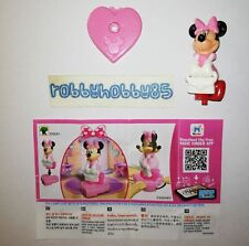 EN541 MINNIE CON VESTITO ROSA + BPZ KINDER JOY INDIA 2019 DISNEY