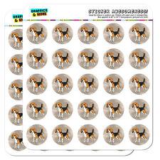 "Beagle Pet Dog 1"" Scrapbooking Crafting Stickers"