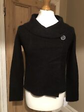 Adrienne Vittadini Black Knitted Cardigan, Size UK S, New With Tags