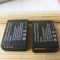 2PACK Battery for Canon PowerShot SX70 HS Mirrorless Digital Camera 1200mAH