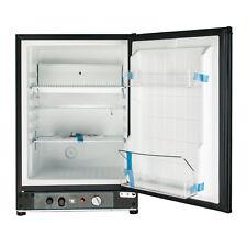 SMAD 60L 110V 12V LPG Propane Refrigerator Thermostat Home Office Hotel Fridge