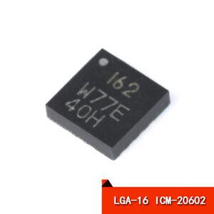6-Axis MEMS MotionTracking Device Sensor ICM-20602 LGA-16 High Performance Chip