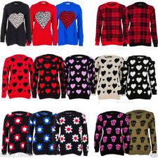 Skull Acrylic Jumpers & Cardigans for Women