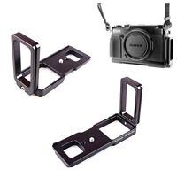 QR L Plate Grip Bracket Tripod Mount RRS for Fujifilm GFX-50R GFX50R Camera