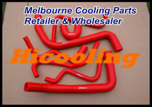 red silicone hose for HOLDEN Commodore VY V6 02-04 & Statesman WK V6 03-04 3.8L