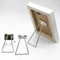 Iron photo frame Pedestal Holder Photo Frame support 5 8 10 inch Display SIJNFEH