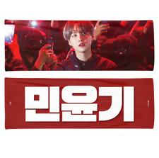 BTS SUGA 2020 Reflective Slogan Official Banner +Photo card + Ziplock