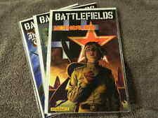 2010 DYNAMITE Entertainment BATTLEFIELDS Volume 4, 5 & 6 - 1st TPBs - WWII NM/MT