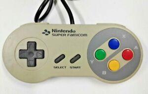 Genuine Nintendo Controller Game Pad for Nintendo Super Famicom TESTED