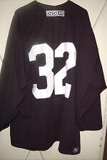 PHOENIX COYOTES Michal Rozsival worn #32 black preseason practice jersey 2010-11