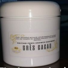 #1 2 oz 100% Haitian Gres CACAO LONGER AND THICKER CREAM male enhancement Royall