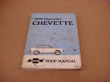 1979 Chevrolet Chevette service shop dealer repair manual