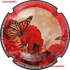 Capsule de champagne DELPORTE Yves  papillon ctr rouge  N°46